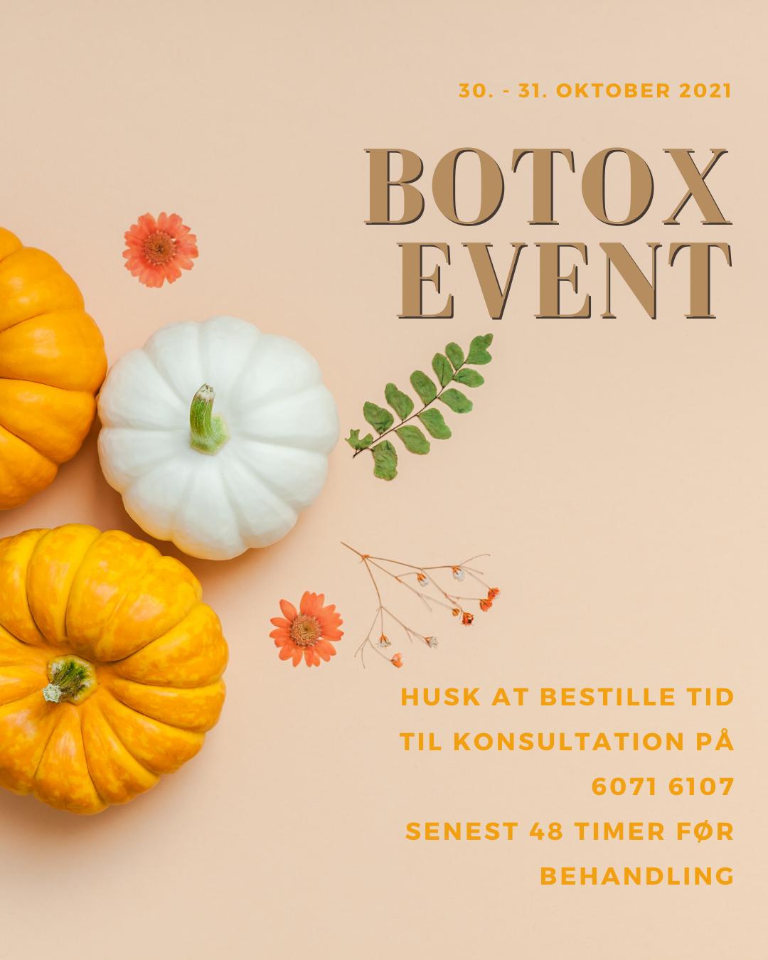 Botox & Filler Event